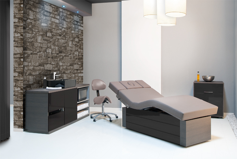 Massage beauty treatment tables exclusivelyspa for Beauty treatment bed